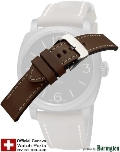 Bracelet de montre cuir ROYAL AERONAUTICAL 24 tabac