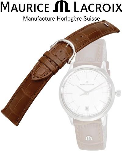 Bracelet montre MAURICE LACROIX LOISIANA cognac/inox 14