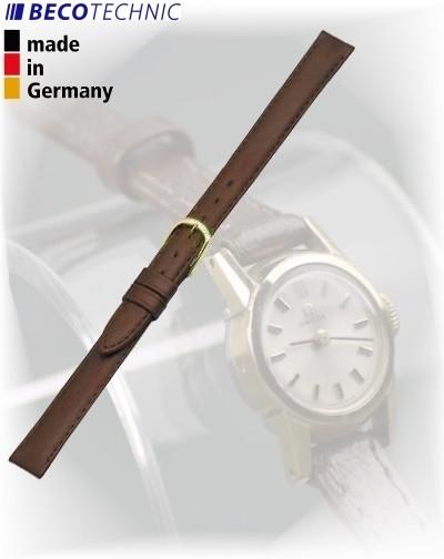 Beco Technic POLO G bracelet de montre cuir brun 8mm